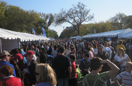 Thousands of people visited the USA Science & Engineering Festival