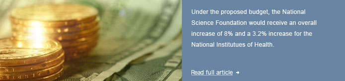 NSF Fares Well, NIH Better than Expected