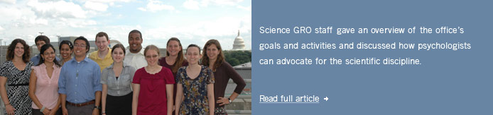 Science Policy Insider News July 2010