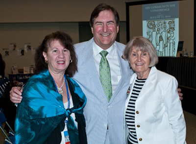 Dr. Ellen Stover, Dr. James Bray, and Dr. Willo Pequegnat pictured at APA Community Day – 2010
