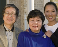 Asian-American family