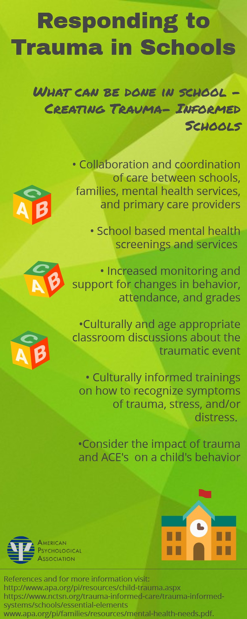Children And Trauma Resources From The Children Youth And Families