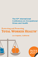 Work, Stress, and Health 2013