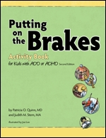 Cover of Putting on the Brakes Activity Book for Kids with ADD or ADHD, Second Edition (medium)
