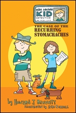 Cover of Max Archer, Kid Detective: Stomachaches (medium)