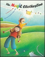 Cover of The Magic Clothesline (medium)